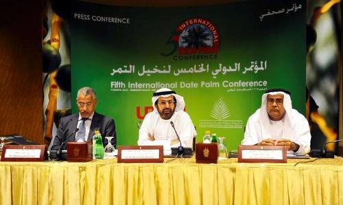 جامعة الإمارات تنظم المؤتمر الدولي الخامس لنخيل التمر في 16 مارس