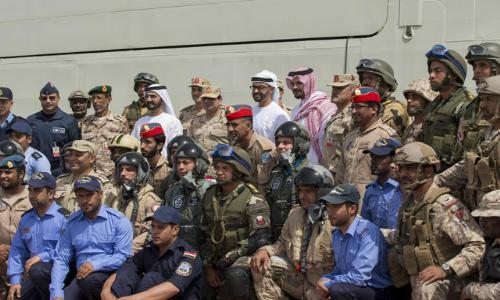 """القوات المسلحة الإماراتية المصرية تختتم تدريبها العسكري المشترك """" زايد-1"""""""
