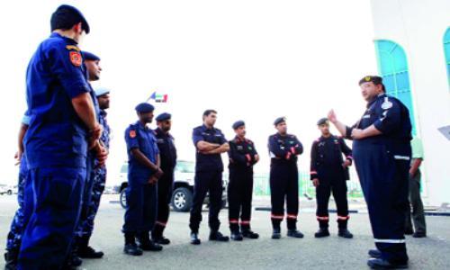فريق الإنقاذ يتحرك إلى الفجيرة لتقديم الإسناد بعد الأمطار الغزيرة