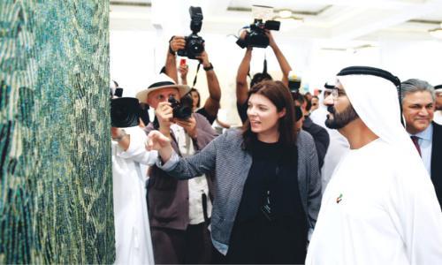 محمد بن راشد: الفن يعكس ثقافة الشعوب وحضارتها