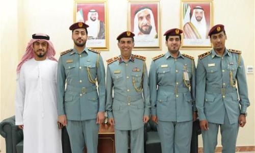 تكريم 11ضابطاً متميزاً بـشؤون الأمن