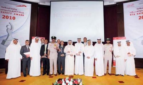 دبي: تكريم المؤسسات والشركات الفائزة بجائزة السلامة