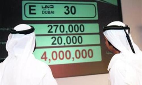 طرق دبي تطرح أرقامًا مميزة في مزاد إلكتروني الثلاثاء