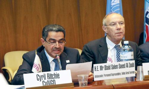 الإمارات تطالب بدعم المقرر الخاص الجديد بالحقوق الفلسطينية