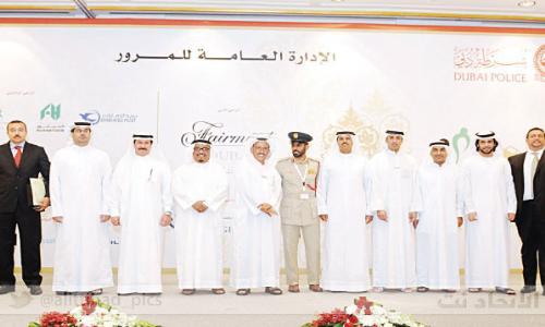 شرطة دبي تكرم 1000 سائق بالنقاط البيضاء