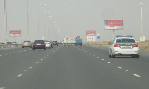 تنفيذ سيناريو وهمي لضبط المركبات المطلوبة في دبي