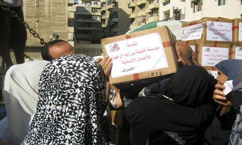 مؤسسة خليفة تواصل دعم النازحين السوريين في لبنان