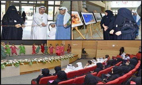طالبات جامعة الإمارات ينظمن فعالية بلادنا حلوة