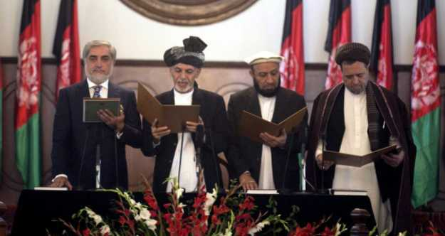 تنصيب أشرف غني رئيساً لأفغانستان