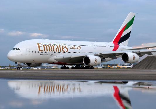 طيران الإمارات تساهم بنحو 7,6 مليار دولار في اقتصاد أوروبا