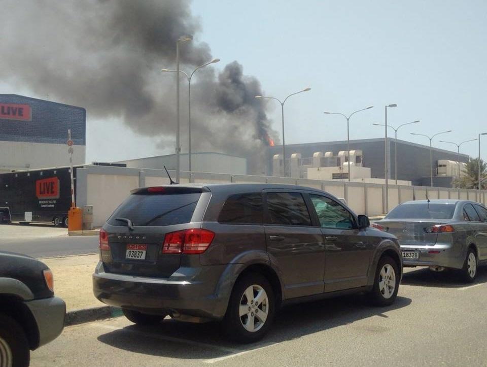 الحريق الثالث خلال ساعات.. إخماد نيران في مبنى تلفزيون أبوظبي