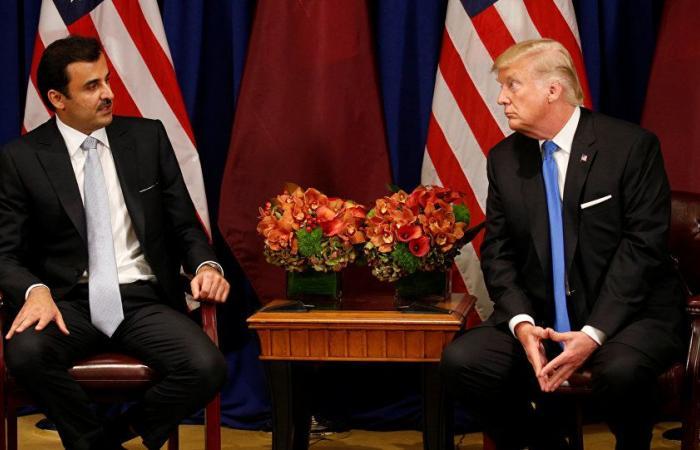 ترامب لأمير قطر: الأزمة الخليجية ستحل بوقت سريع للغاية