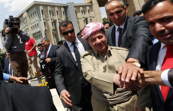 الأكراد يستعدون للانفصال عن العراق