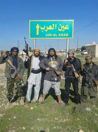 ثلاثة أحياء من كوباني في قبضة تنظيم الدولة