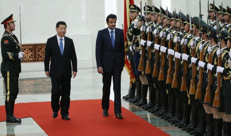 قطر والصين تتفقان على علاقات شراكة استراتيجية