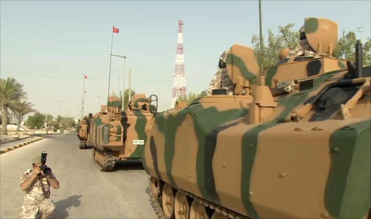 تركيا تعتبر قاعدتها العسكرية بقطر حقا سياديا
