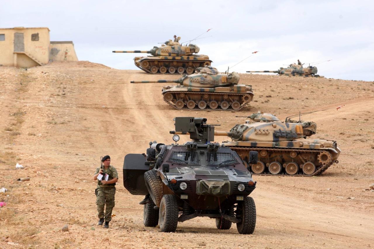 أنقرة تُعلن قتل 862 عنصر من تنظيم الدولة منذ مطلع العام الجاري