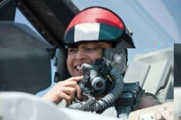 هل شاركت الإماراتية مريم المنصوري في ضرب الدولة الإسلامية في سوريا؟
