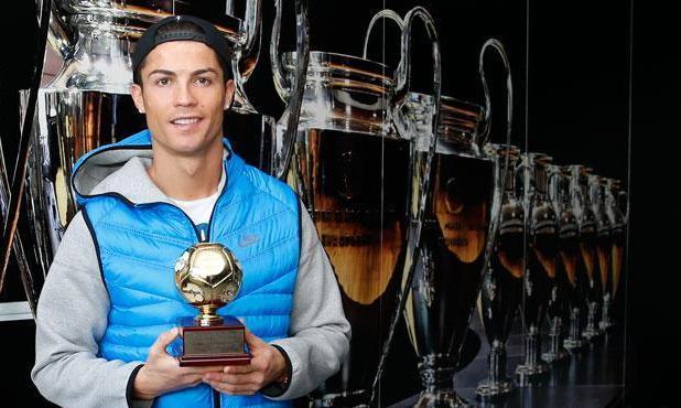 رونالدو يحصد جائزة هداف البطولات القارية
