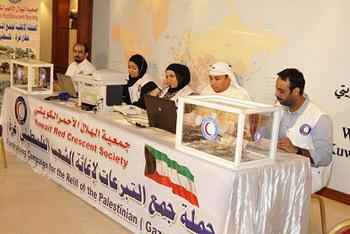 الكويت تقدم مساعدات طبية عاجلة إلى قطاع غزة