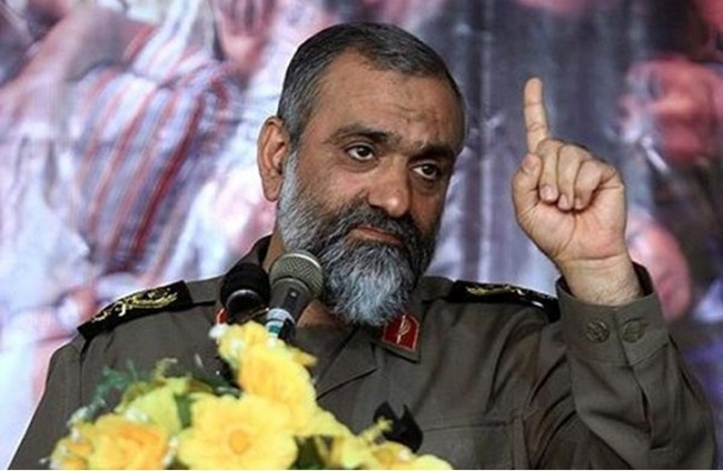 قائد بالحرس الثوري يعلن أن إيران هي من تحدد مصير المنطقة