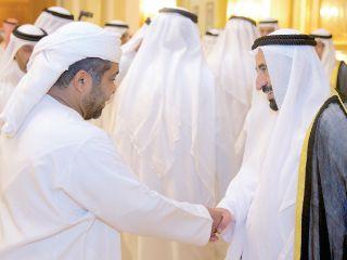 حكام الإمارات يتلقون التهاني من المواطنين بالشهر الفضيل