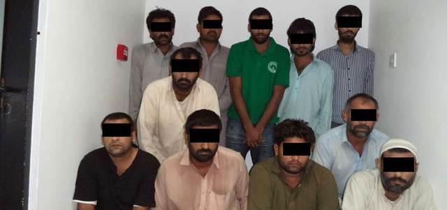 ضبط عصابة من 20 شخصاً تسرق كابلات الكهرباء