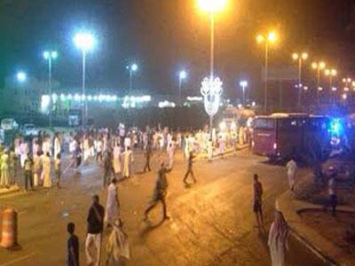 احتجاجات وتظاهرات لعمال مصريين في السعودية