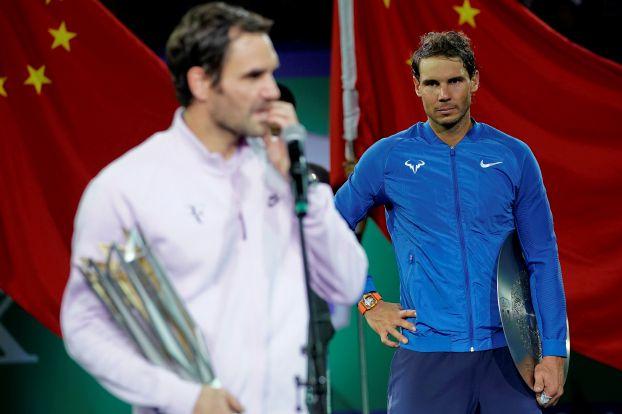 فيدرر يهزم نادال ويحصد لقب بطولة شنغهاي للأساتذة
