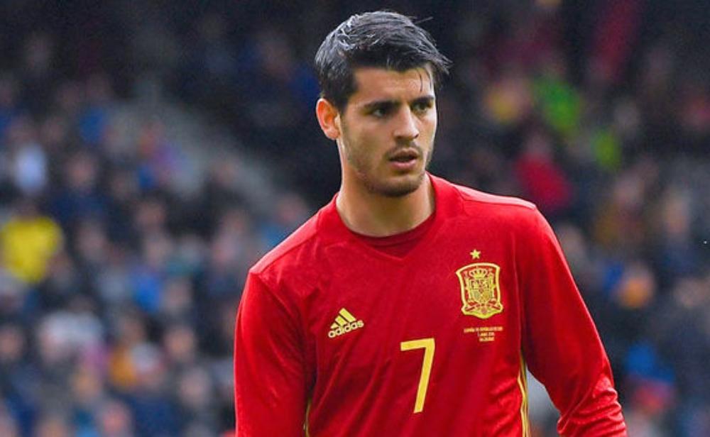 هدف موراتا يمنح اسبانيا تعادلا متأخرا ضد كولومبيا