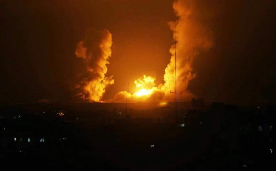 مقاتلات إسرائيلية تشن سلسلة غارات جديدة على غزة