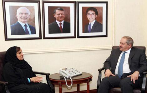 الإمارات تؤكد دعمها للأردن في مساعدته للاجئين السوريين