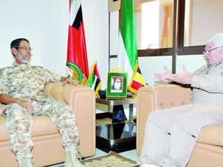 مباحثات عسكرية بين الإمارات وبلجيكا