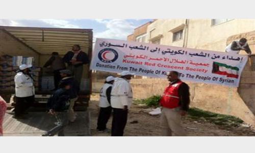 توزيع مساعدات كويتية لـ800 عائلة سورية بالعاصمة الأردنية عمان