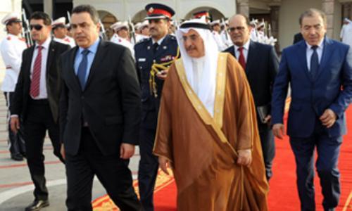 مهدي جمعة يغادر مملكة البحرين
