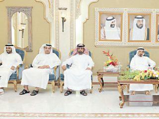حكام الإمارات يتقبلون تهاني رمضان من كبار المسؤولين والقبائل