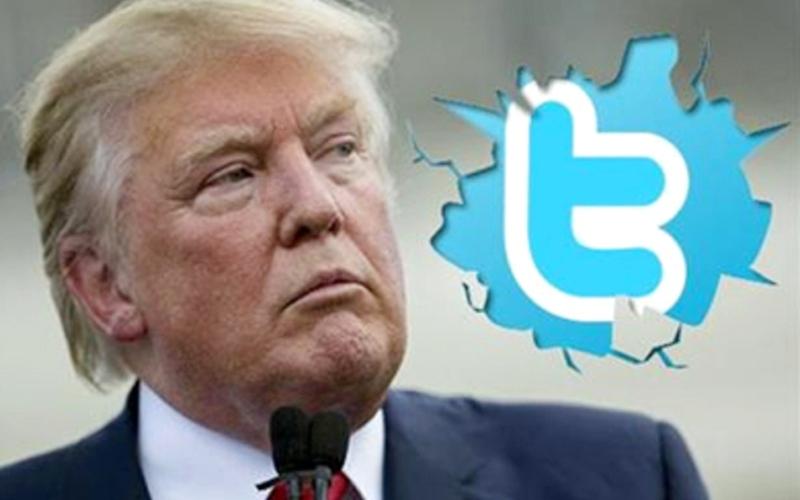 «تويتر» يقرر إغلاق حساب ترامب لخطابه العنصري