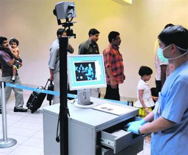 خطة في مطارات الدولة لمواجهة الأمراض