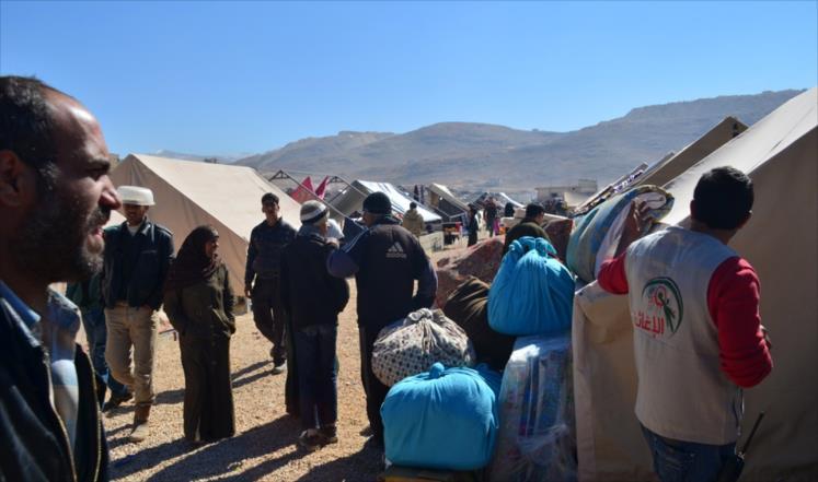 الإمارات تخصص 5 ملايين درهم مساعدات عاجلة لنازحي عرسال