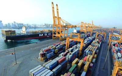 91.3 مليار درهم حجم التجارة الثنائية بين الإمارات وأمريكا