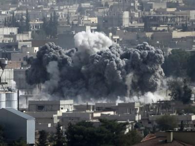 بفعل غارات التحالف.. تراجع تنظيم الدولة في كوباني