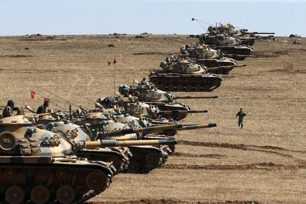 مقتل 46 داعشيا في عملية درع الفرات التركية في سوريا