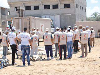 تجهيز المستشفى الميداني الإماراتي في غزة لاستقبال الجرحى
