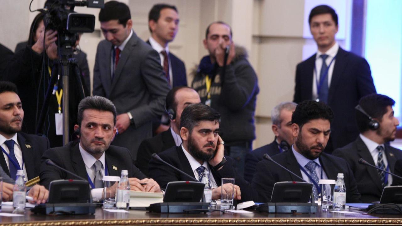 المعارضة السورية ترفض وجود إيران باتفاق أستانة وعلمانية الدولة