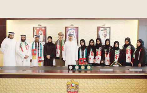 طلبة الإمارات يحرزون أربع ميداليات بأولمبياد الرياضيات الخليجي
