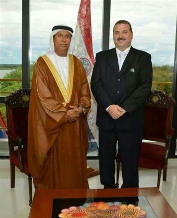 مباحثات حول تطوير العمل التشريعي بين الإمارات والبراغواي