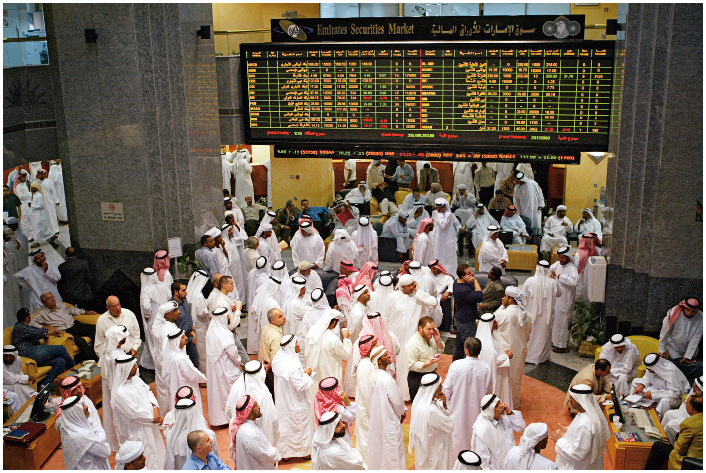 ارتفاع مكاسب الأسهم المحلية إلى 35 مليار درهم في أسبوعين