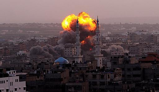 إدانة عربية للعدوان الإسرائيلي على غزة