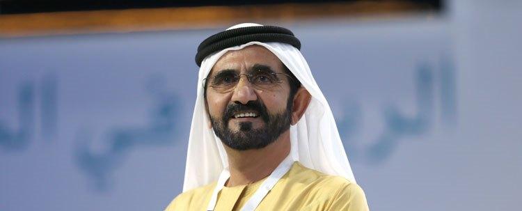 محمد بن راشد يحضر مأدبة غداء لمواطن قطري