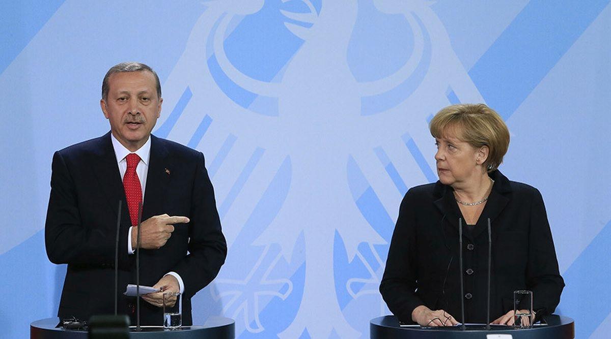 أردوغان يتهم ألمانيا بدعم